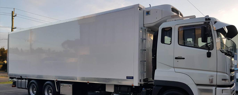 Dry Refrigerated Box Trucks